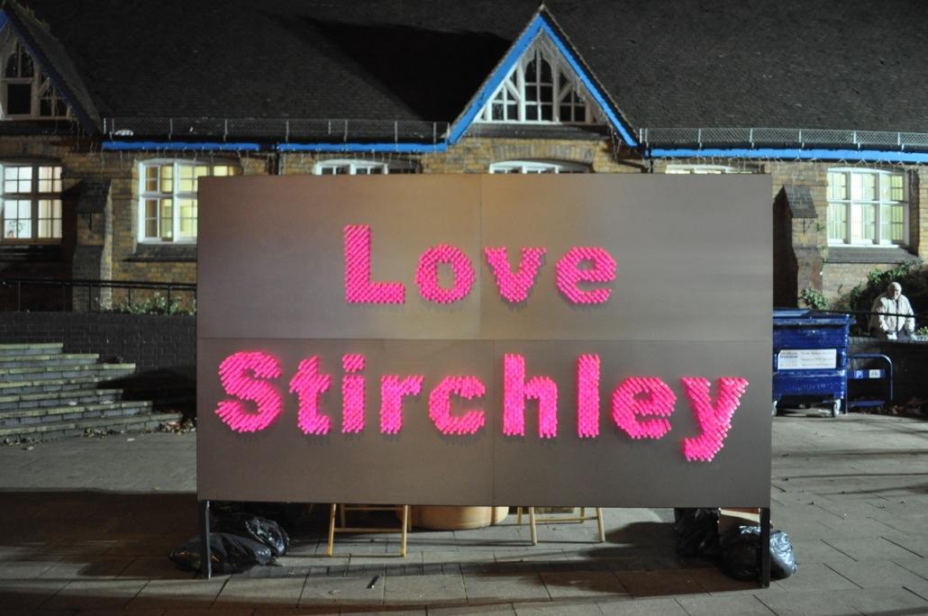 Love Stirchley event 2 Dec 11 - photo credit Place Prospectors